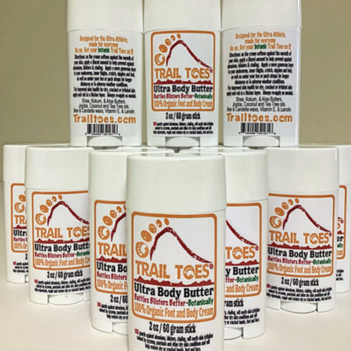Trail Toes Ultra Body Butter 2oz/60g Stick