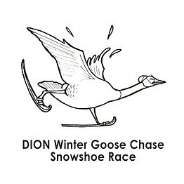 Racing%20Goose%20in%20Snowshoes-Linework