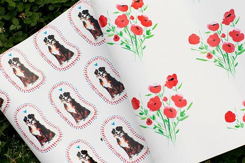Bernese Mountain Dog Wallpaper - Sample