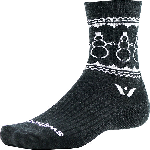 Swiftwick Snowman Merino Socks
