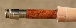Struble U-20 Nick. Silver-21512-Blk Cherry Burl