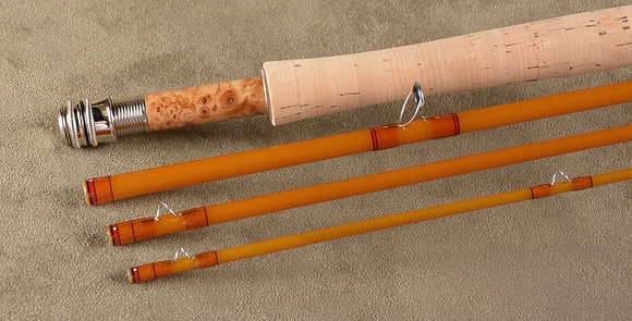 """EPIC 580 AMBER-""""Fastglass II"""" - 8'0"""" 5wt - #20511 -  One more being built"""