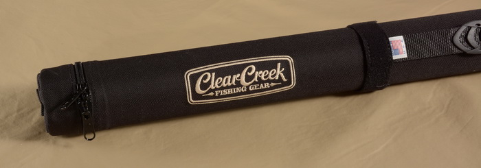 Clear Creek Canvas Rod Case