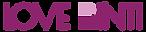 purple letter Love Binti logo(English) c