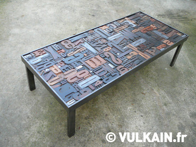 Table basse Vulkain
