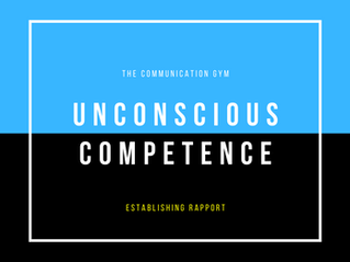 Unconscious Competence on the Playing Field