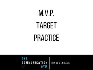 Bringing it together - MVP Target Practice
