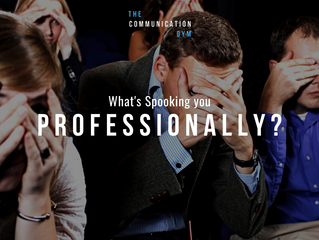 What is spooking you professionally?