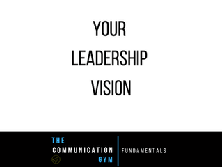 Your Leadership Vision
