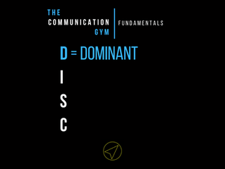 "Meet the ""D"" in the DISC"