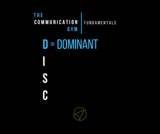 """Meet the """"D"""" in the DISC"""