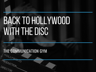 Back to Hollywood with the DISC