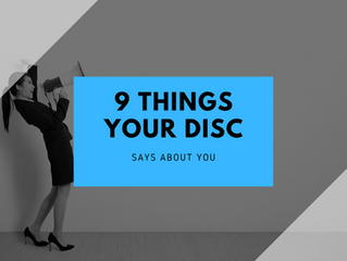 9 things your DISC Engagement report says about you