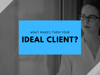 What makes them your ideal client?