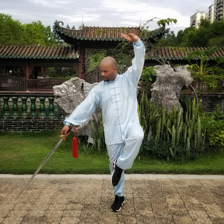 After receiving my Tai Chi Sword