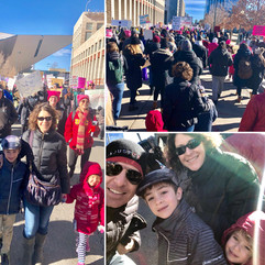 At the amazing Women's March here in Den
