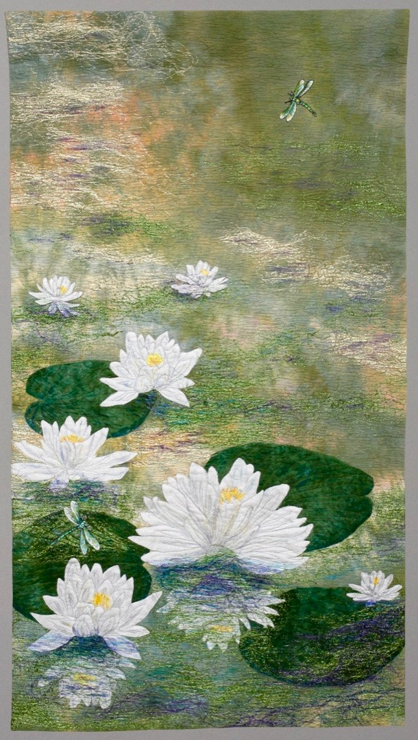 2015-WaterLilies-29x51 のコピー