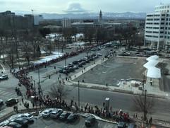 Denver teachers on the march!