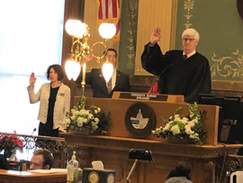 Sworn in! Ready to get to work!