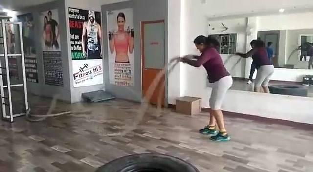 #Fitness Hi 5 Tulsi Nagar Branch #FitIndore
