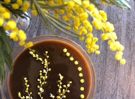 Panna Cotta au mimosa