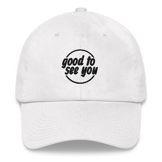 Dad Hat Piece (White)