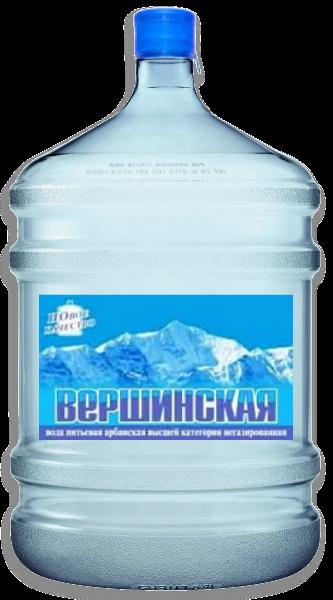 """Питьевая вода """"Вершинская"""" 19л."""