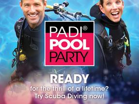 PADI®POOLPARTY - великолепная возможность попробовать дайвинг и завести новых друзей!