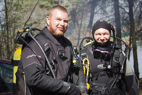 Курс PADI Dry Suit Diver