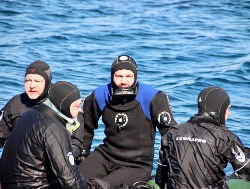 Россия Баренцево море
