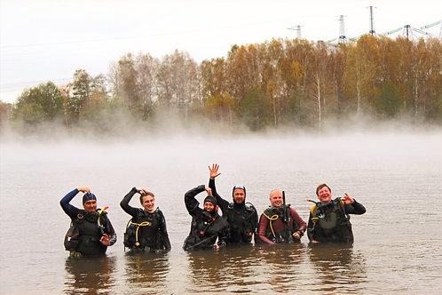 Открытая вода PADI Open Water Diver