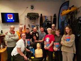 Репортаж: Семинар по программам Первой Помощи и Навыки Спасения во Фридайвинге.