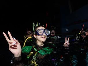 Репортаж: Ночное погружение или подводный Halloween