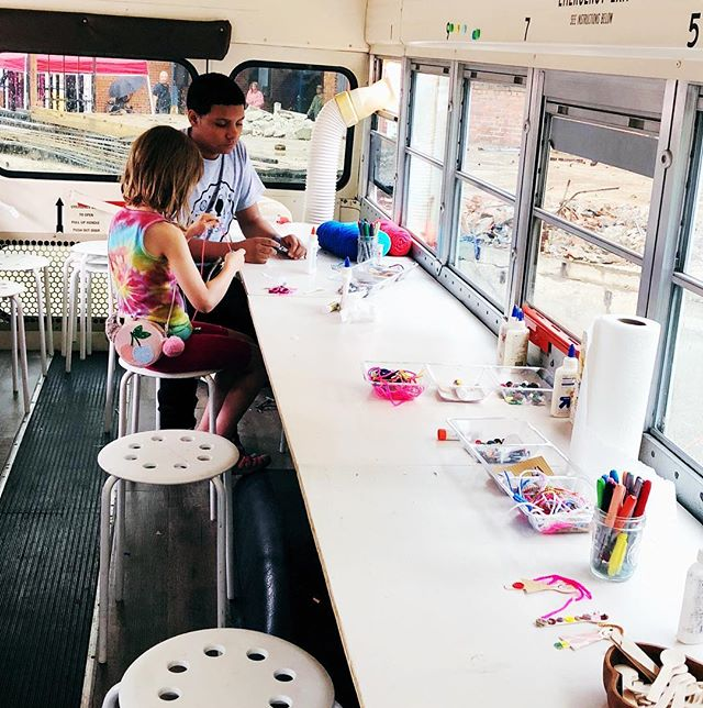 Create in the Art Bus!! Now available fo