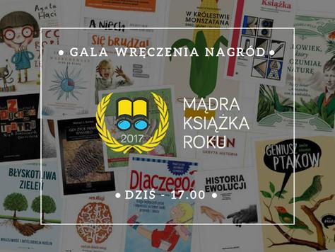 Mądre Książku 2017 roku - gala