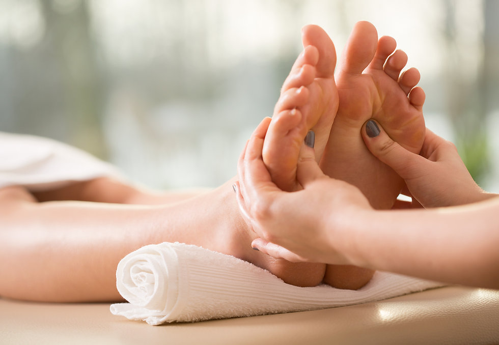 Reflexologist north london