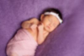 Baby sleeping reflexology