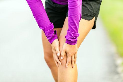 Sports knee injury