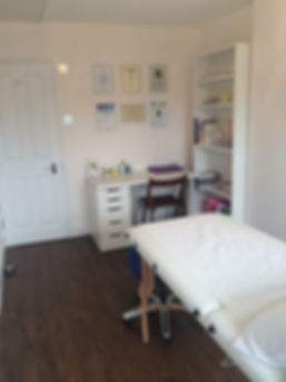Reflexology Room London Clinic Room