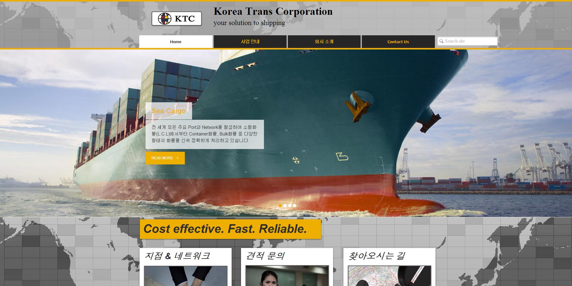 Korea trans corp