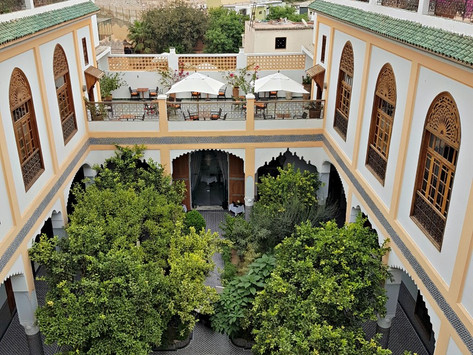 Royal Moroccan riad stay at Palais Amani in Fes