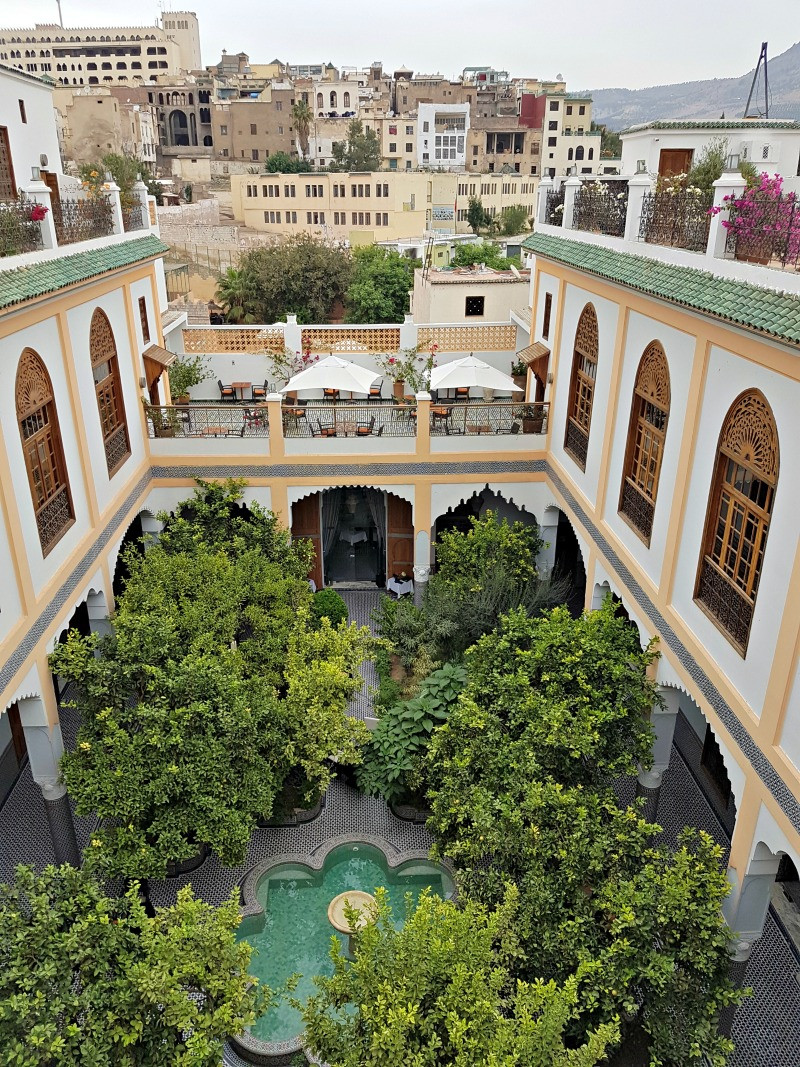 Royal Moroccan riad stay at Palais Amani in Fes