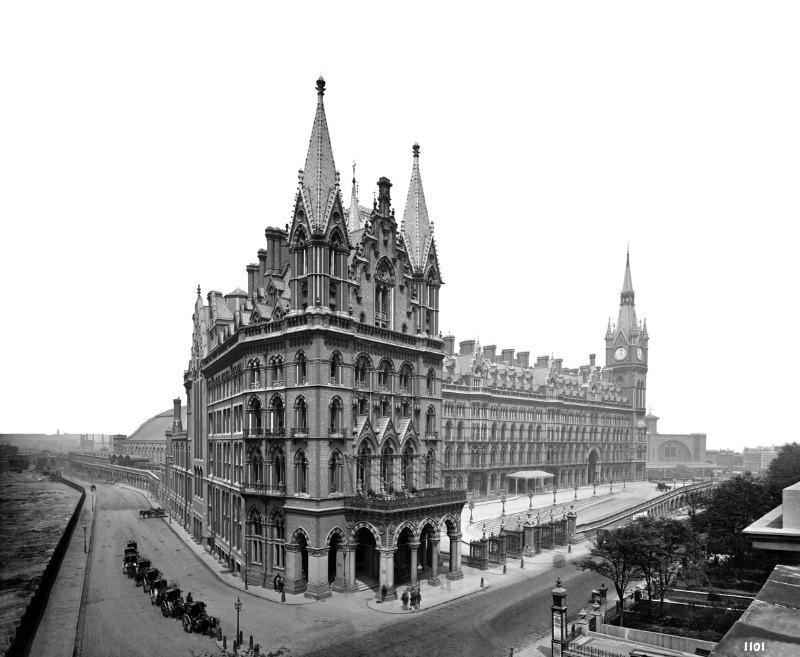 St. Pancras Renaissance Hotel archives