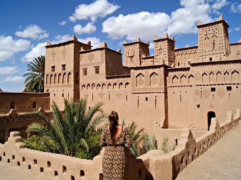 Morocco desert beauty, dunes and Kasbahs