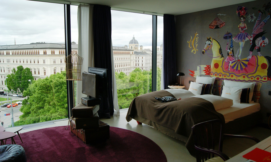 A hip citytrip at 25hours Hotel Vienna
