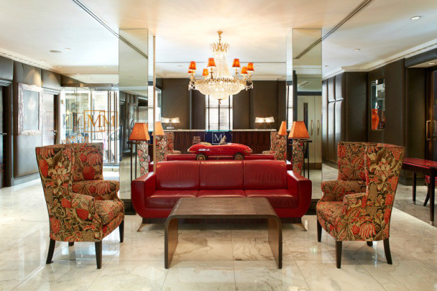 Hotel lobby, pic credits: The Mandeville Hotel
