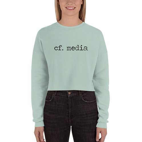 cf. media Crop Sweatshirt
