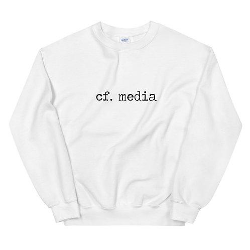 cf. media crew neck sweatshirt