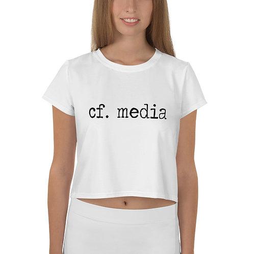 cf. media Crop Tee