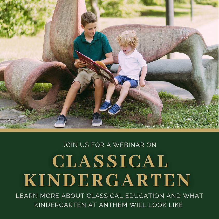 Classical Kindergarten Webinar